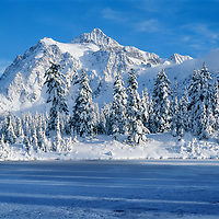 Mt. Shuksan, Winter, North Cascades, Washington State