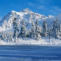 Mt. Shuksan, Winter, North Cascades, Washington State