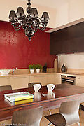 03.06.2010 Warszawa mieszkanie na ul Zaryna Fot Piotr Gesicki Photography of Modern contemporary orient apartment interior in Warsaw Poland