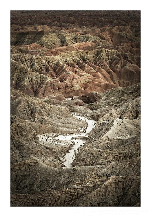 Borrego Badlands from Fonts Point, Anza-Borrego Desert State Park California
