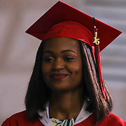 William Penn graduate Jordan M. Batch receives her diploma in front of family, friend and fellow graduates made up of 464 students during William Penn 93rd commencement exercises Monday, June 08, 2015, at The Bob Carpenter Sports Convocation Center in Newark, Delaware.