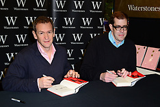 DEC 11 2013 Alexander Armstrong and Richard Osman attend book signing