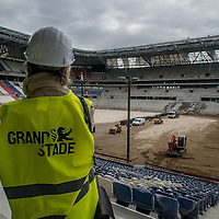 Visit of the Grand Stade Lyonnais
