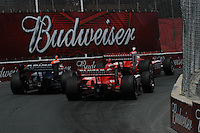 Dario Franchitti, Mario Moraes, Scott Dixon, Honda Indy Toronto, Indy Car Series