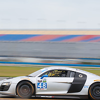#48 Paul Miller Racing Audi R8: Bryce Miller, Benoit Treluyer