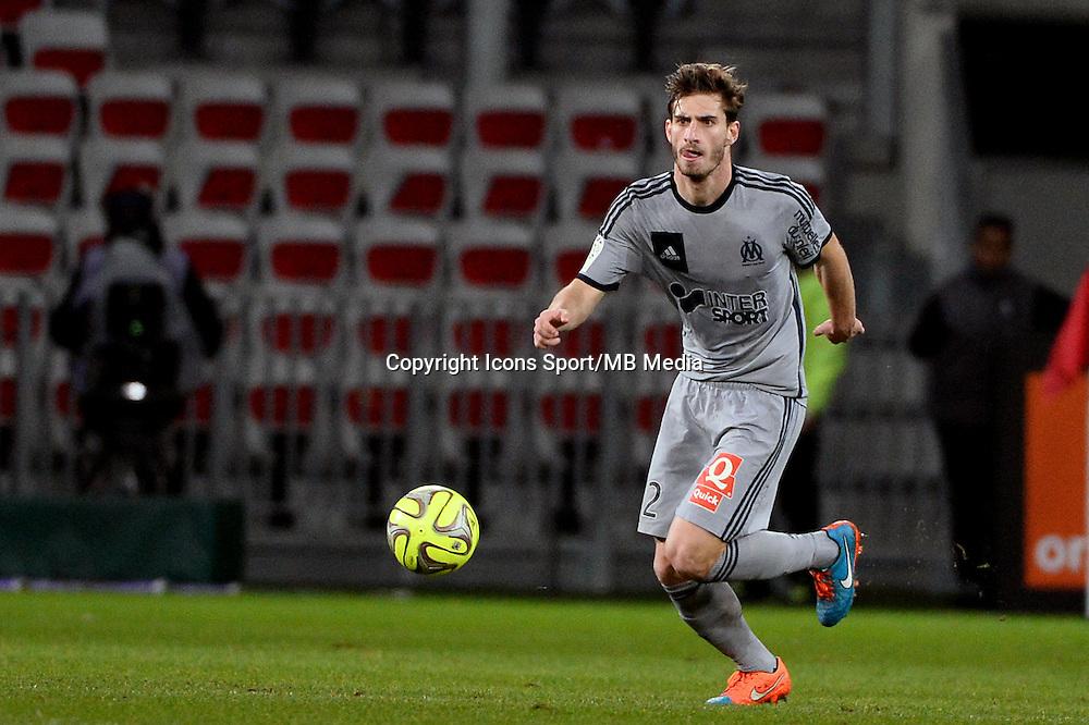 Baptiste ALOE   - 23.01.2015 - Nice / Marseille - 22eme journee de Ligue 1<br />Photo : Gaston Petrelli / Icon Sport