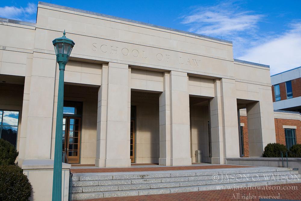The University of Virginia School of Law - University of Virginia, Charlottesville, VA, January 6, 2008.