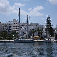 Scenes from Tunisia's resort area, El Kantouai