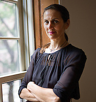Lisa Immordino poses for a portrait at her home for a story on the upcoming documentary on Diana Vreeland. Immordino is the filmmaker and Diana's granddaughter-in-law.... Photo by Robert Caplin