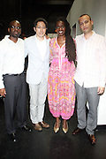 27 August 2010- New York, NY- Somi,and her band backstage at Joe's Pub as part of '  Make Music New York Series ' held at Joe's Pun on August 27, 2010 in New York City. Photo Credit: Terrence Jennings