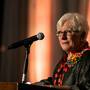 Gerri Craves at the annual Ignatian Gala on April 14. (Photo by Ryan Sullivan)