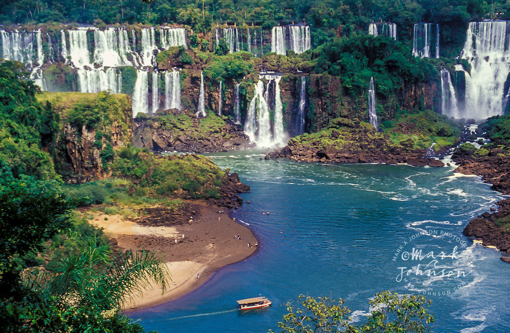 Iguazu falls argentina south america mark a johnson for Johnson argentina