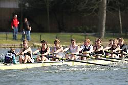 2012.02.25 Reading University Head 2012. The River Thames. Division 1. St Pauls School Boat Club A J18A 8+