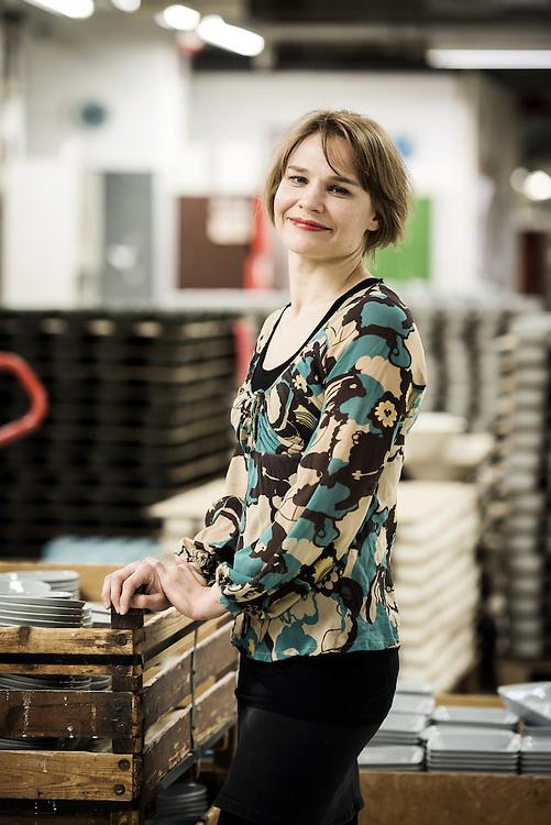 Helsinki, Finland 8 October 2012.Irina Viippola, Concept Manager for Iittala and Arabia brand..Photo: Ezequiel Scagnetti © European Union