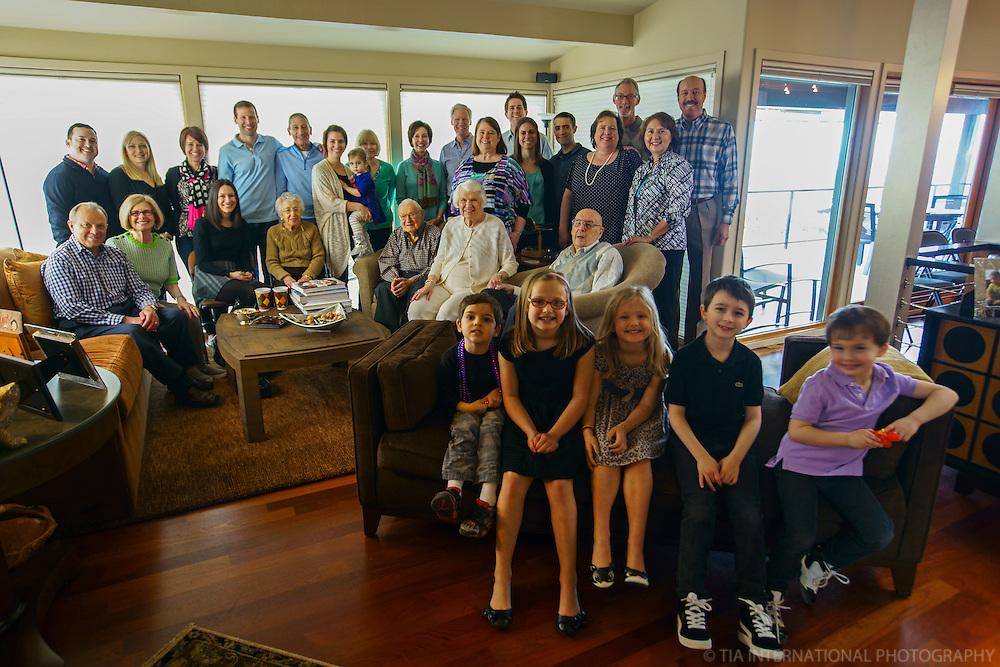 Extended Family Portrait, Seattle