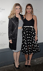 Ashley James and Ferne McCann attend as TV personality Ferne McCann launches her blog 'Fashionable Foodie' at Charlie's Deli, High Street, Brentwood, Essex on Thursday 5 February 2015
