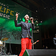 COLUMBIA, MD - April 28th, 2012 -  Fitz and the Tantrums perform at the 2012 Sweetlife Food and Music Festival at Merriweather Post Pavilion in Columbia, MD.  (Photo by Kyle Gustafson/For The Washington Post)
