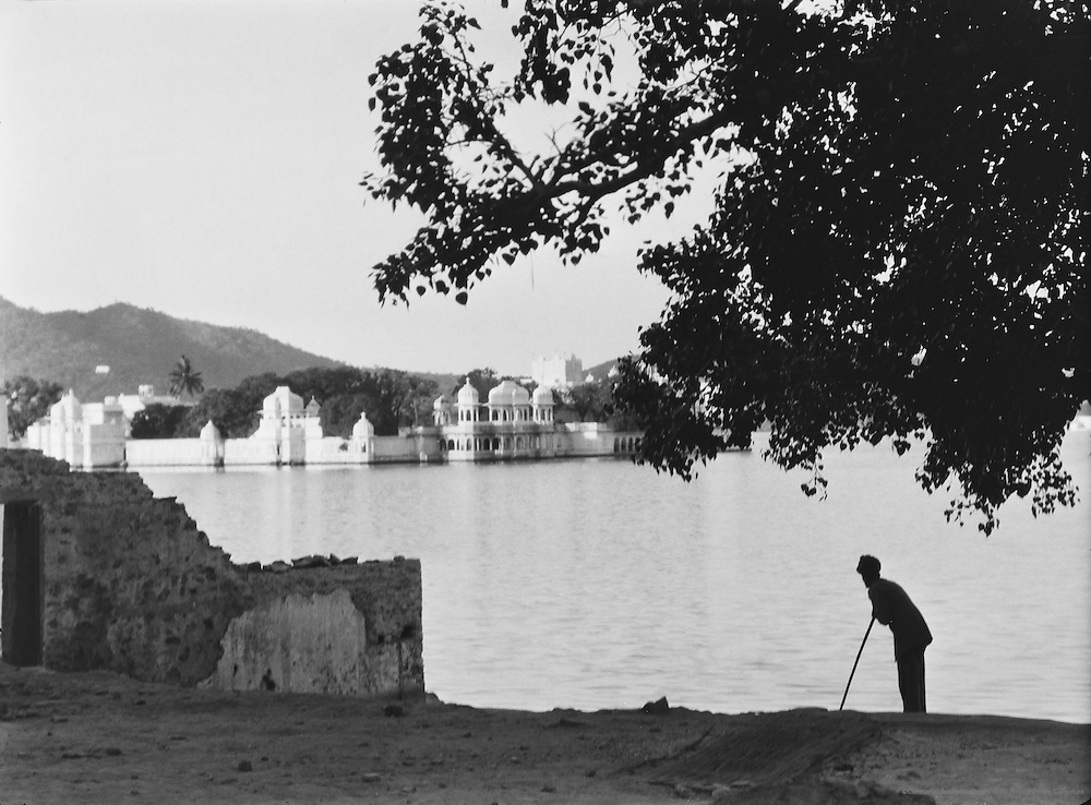 View of Jag Mandir Island, Udaipur, India, 1929