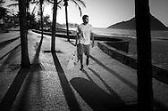 Rio de Janeiro, Brasil, September 13 of 2013:  Pedro Scooby during Seja Max shooting at Praia da Macumba. (photo: Caio Guatelli)