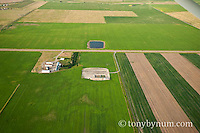 oil drilling pad green field near ranch blackfeet indain reservation