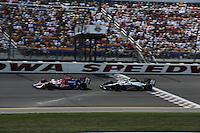 Hideki Mutoh, Marco Andretti, Iowa Corn Indy 250, Iowa Speedway, Newton, IA USA 22/6/08,