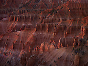 Twilight on the hoodoos of Cedar Breaks National Monument