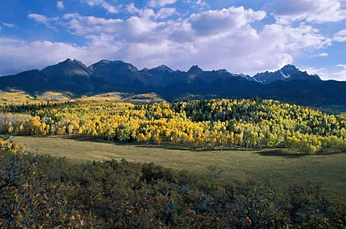 Colorado, Mount Sneffels, Dallas Divide, San Juan Mountains