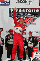 Helio Castroneves, Michigan IRL race Firestone Indy 400, Michigan International Speedway, Brookly, MI USA,7/30/2006