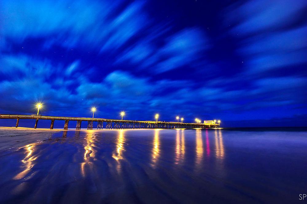 Newport Pier, CA.