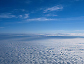 Cloud, Sky and Contrails