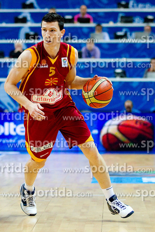 Vlado Ilievski of Macedonia during basketball game between National basketball teams of  Georgia and Former Yugoslav Republic of Macedonia at FIBA Europe Eurobasket Lithuania 2011, on September 8, 2011, in Siemens Arena,  Vilnius, Lithuania. (Photo by Vid Ponikvar / Sportida)