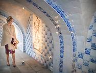 10&ndash;2-2017 - Oranienbaum - King Willem-Alexander and Maxima lunch Watermanagent Schloss Oranienbaum.  King Willem-Alexander and Maxima will visit from Tuesday 7 to Friday, February 10th, 2017 a working visit to the German states of Thuringia Th&uuml;ringen, Saxony and Saxony-Anhalt  Saksen en Saksen-Anhalt. Copyright ROBIN UTRECHT<br /> DESSAU - Koning Willem-Alexander en koningin Maxima krijgen een rondleiding door landgoed Schloss Oranienbaum op de vierde en laatste dag van een werkbezoek van het koningspaar aan de Duitse deelstaten Saksen, Saksen-Anhalt en Thuringen.