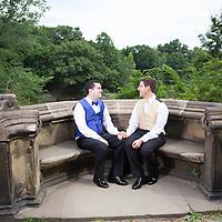 David & George Wedding