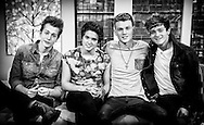 The Vamps - Bradley Simpson, James McVey, Tristan Evans and Connor Ball on Sunday Brunch 19-01-2014.<br /> <br /> Can be licensed for use at www.rexfeatures.com