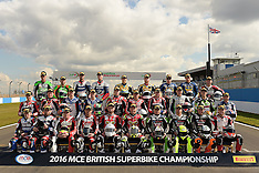 Official MCE British Superbike Test Donington Park 2016