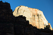 The Great White Throne in Zion National Park, Utah.