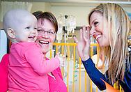 8-4-2015 - UTRECHT Queen Maxima has visited the Princess Maxima Center for Pediatric Oncology in Utrecht. Koningin Máxima heeft woensdagochtend een werkbezoek gebracht aan het Prinses Máxima Centrum voor kinderoncologie in Utrecht.  HANDOUTS PRINSES MAXIMA CENTRUM