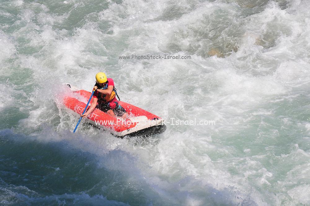 Turkey, Antalya, Koprulu River Canyon, White water rafting