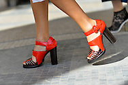Shoes of Annie Georgia Greenberg, Outside Carven