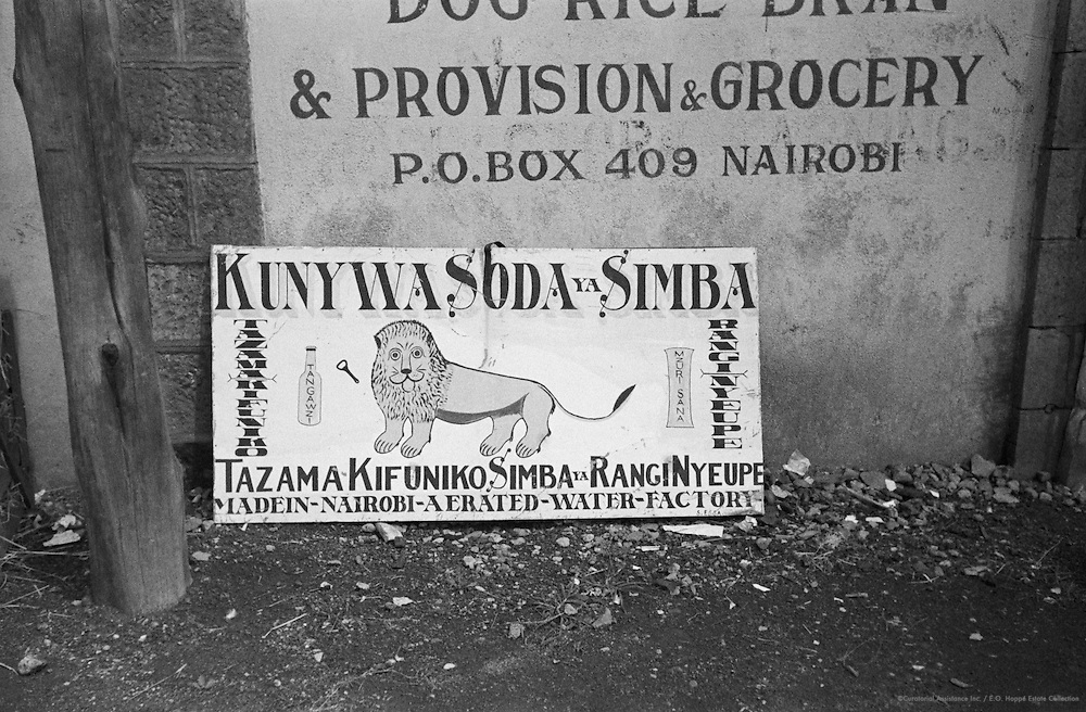 Shop Sign, Nairobi, Kenya, 1937