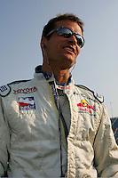 Alex Barron at the Chicagoland Speedway, September 11, 2005