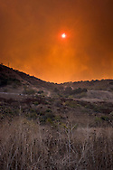 Brea Canyon Fire, Southern California