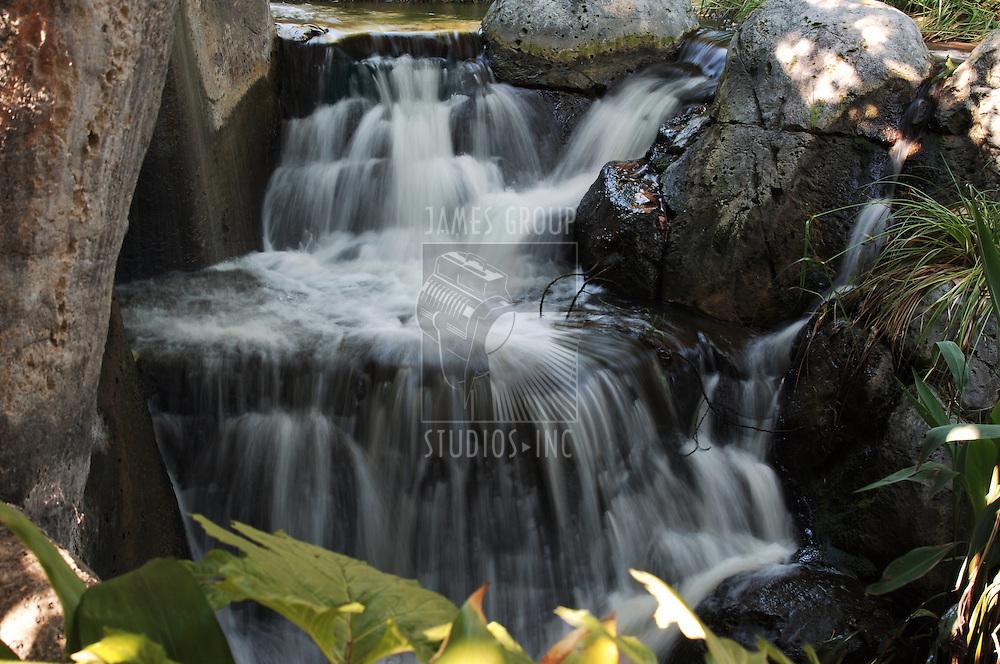 waterfall in landscape orientation