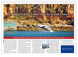 Tear Sheet - Sydney Morning Herald Traveller section, March 2-3 2013