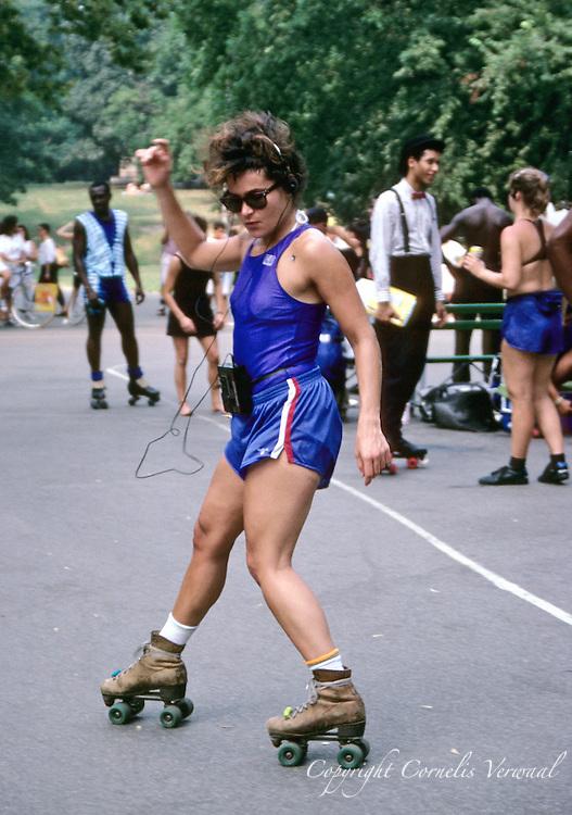 Roller Skating Nyc Central Park Central Park Roller Disco