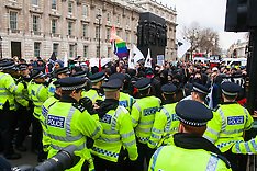 2015-04-04 Scuffles as anti-fascists disrupt poorly attended PEGIDA rally in London