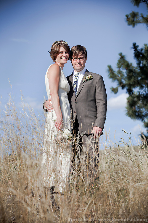 Catherine Paul and Andrew Seaver wedding at the Spring Creek Ranch in Winthrop, Washington.