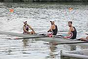 Ottensheim, AUSTRIA.  A  Final,  LM8+, Medals,  at the 2008 FISA Senior and Junior Rowing Championships,  Linz/Ottensheim. Sunday,  27/07/2008.  [Mandatory Credit: Peter SPURRIER, Intersport Images] Rowing Course: Linz/ Ottensheim, Austria