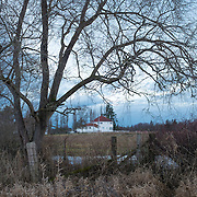 Farmhouse in winter. Agnew , WA.