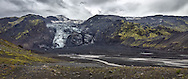 Former iceberg lagoon wiped out by  the erruption of <br /> Eyjafjallaj&ouml;kull